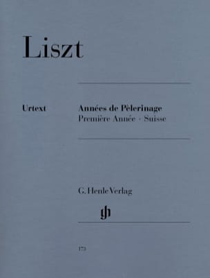 Franz Liszt - Years of Pilgrimage - 1st year Switzerland - Sheet Music - di-arezzo.co.uk