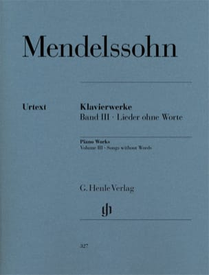 MENDELSSOHN - Romances without words - Sheet Music - di-arezzo.com