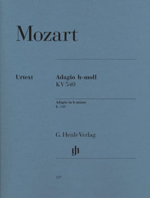 MOZART - Adagio in BマイナーKV 540 - 楽譜 - di-arezzo.jp