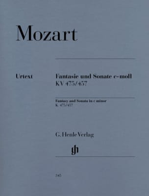 MOZART - Fantasy and Sonata Do Minor K 475 and 457 - Sheet Music - di-arezzo.co.uk