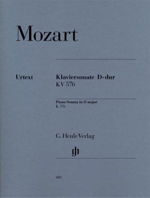 Sonate pour piano en Ré majeur K. 576 - MOZART - laflutedepan.com