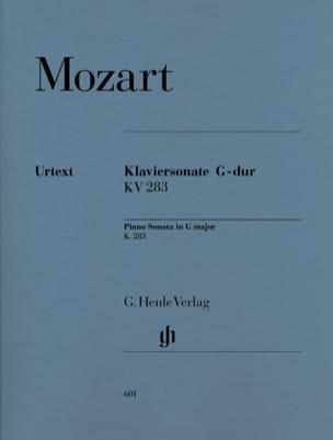 MOZART - ピアノのためのソナタ、長調K. 283 189h - 楽譜 - di-arezzo.jp