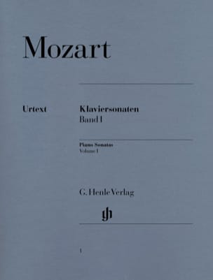 Sonates pour Piano Volume 1 MOZART Partition Piano - laflutedepan