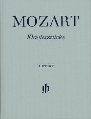 MOZART - Klavierstücke - Edition Reliée - Partition - di-arezzo.fr