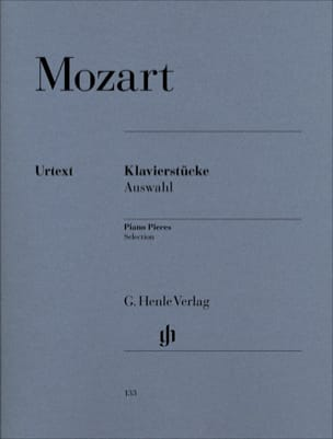 MOZART - Klavierstücke (Auswahl) - Partition - di-arezzo.fr