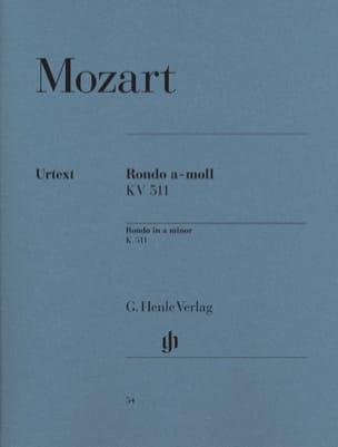 MOZART - Rondo in A minor K. 511 - Sheet Music - di-arezzo.com