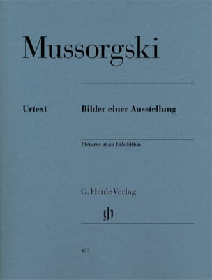 Modest Moussorgsky - Pictures of an exhibition - Sheet Music - di-arezzo.com