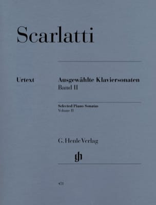 Sonates choisies pour piano. Volume 2 SCARLATTI Partition laflutedepan