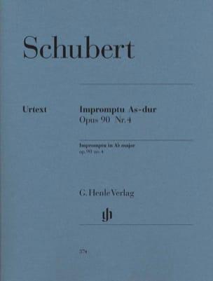 SCHUBERT - Impromptu en A mayor plana Opus 90-4 D 899 - Partitura - di-arezzo.es