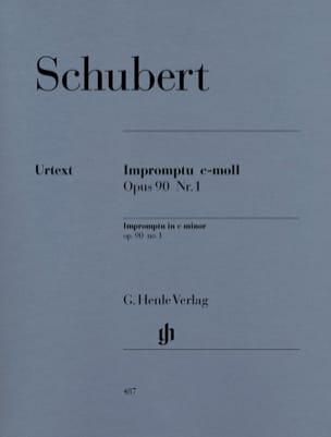 Impromptu en Do Mineur Opus 90-1 D 899 - SCHUBERT - laflutedepan.com
