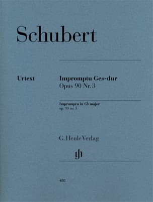 SCHUBERT - Impromptu in G flat Major Opus 90-3 D 899 - Sheet Music - di-arezzo.co.uk