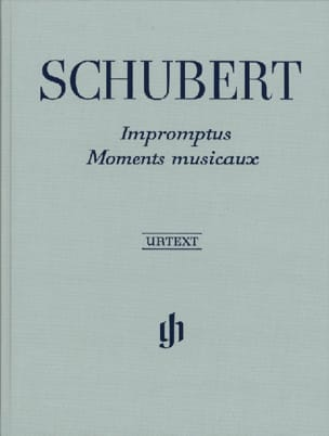 SCHUBERT - Impromptus / Musical Moments. joined - Sheet Music - di-arezzo.co.uk