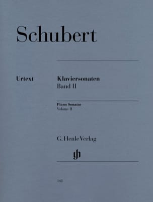 SCHUBERT - Piano Sonatas - Volume 2 - Sheet Music - di-arezzo.co.uk