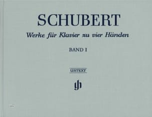 Oeuvres Pour Piano A Quatre Mains, Volume 1 - Edition Reliée - laflutedepan.com