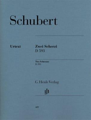 Franz Schubert - 2 Scherzi D 593 - Partition - di-arezzo.fr
