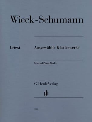 Clara Schumann - Selected works for piano - Sheet Music - di-arezzo.co.uk