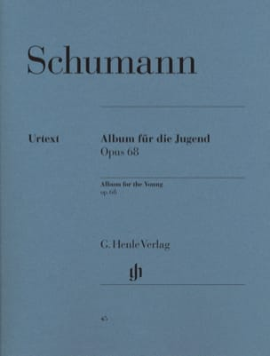 SCHUMANN - Album For Youth Opus 68 - Sheet Music - di-arezzo.com