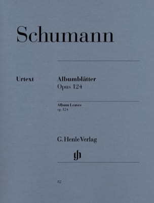 SCHUMANN - Albumblätter Opus 124 - Sheet Music - di-arezzo.co.uk