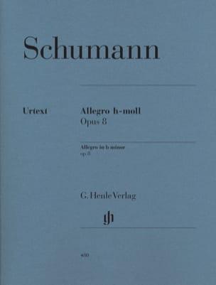 Robert Schumann - Allegro Si Mineur Opus 8 - Partition - di-arezzo.fr