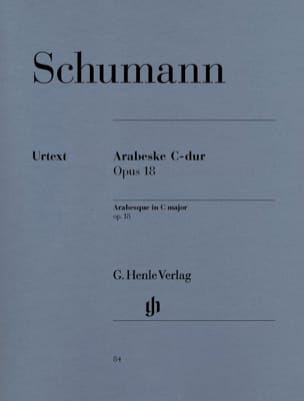 SCHUMANN - Arabesque In C Major Opus 18 - Sheet Music - di-arezzo.co.uk
