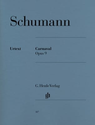 SCHUMANN - Carnival Opus 9 - Sheet Music - di-arezzo.co.uk