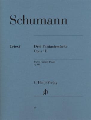 3 Fantasiestücke Opus 111 SCHUMANN Partition Piano - laflutedepan