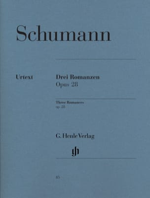 SCHUMANN - 3 Romances Opus 28 - Sheet Music - di-arezzo.co.uk
