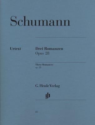 SCHUMANN - 3 Romances Opus 28 - Sheet Music - di-arezzo.com