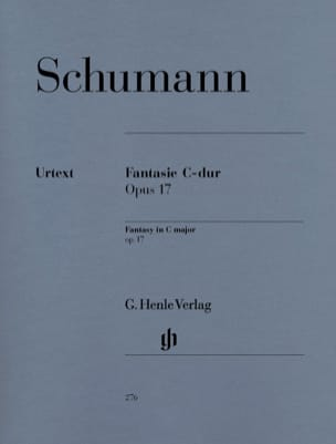 SCHUMANN - Fantasy Do Major Opus 17 - Sheet Music - di-arezzo.co.uk