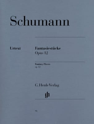 SCHUMANN - Fantasiestücke Opus 12 - Sheet Music - di-arezzo.co.uk