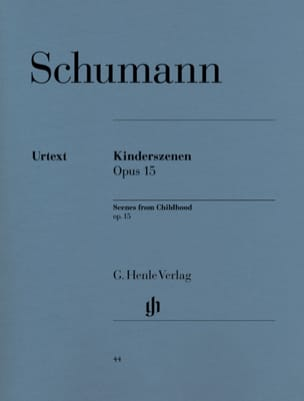SCHUMANN - Scenes Of Children Opus 15 - Partition - di-arezzo.co.uk