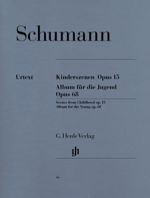 SCHUMANN - Children's Scenes Opus 15 and Album for Youth Opus 68 - Sheet Music - di-arezzo.co.uk