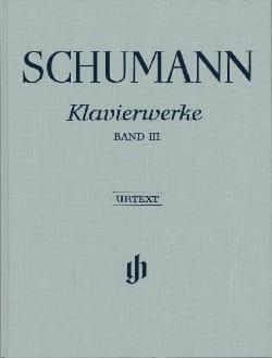 Klavierwerke. Vol 3. Relié - Robert Schumann - laflutedepan.com