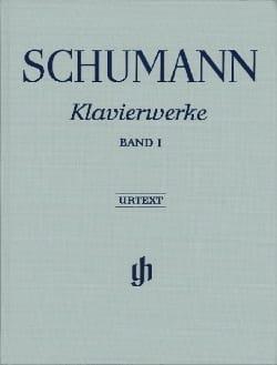 Robert Schumann - Klavierwerke. Vol 1. Relié. - Partition - di-arezzo.fr