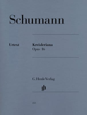 Robert Schumann - Kreisleriana - Partition - di-arezzo.fr