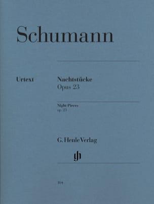 SCHUMANN - Nachtstücke Opus 23 - Sheet Music - di-arezzo.com
