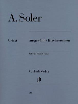Ausgewählte Klaviersonaten Antonio Soler Partition laflutedepan
