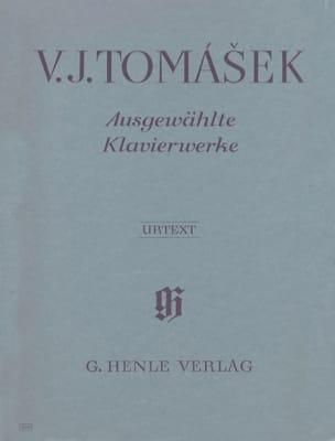 Ausgewählte Klavierwerke - Vaclav van Tomasek - laflutedepan.com