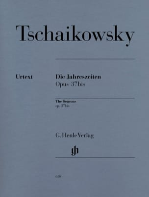 TCHAIKOWSKY - The seasons Opus 37bis - Sheet Music - di-arezzo.com