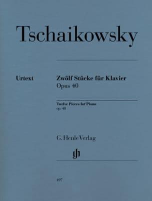 TCHAIKOWSKY - 12 piezas Opus 40 - Partitura - di-arezzo.es