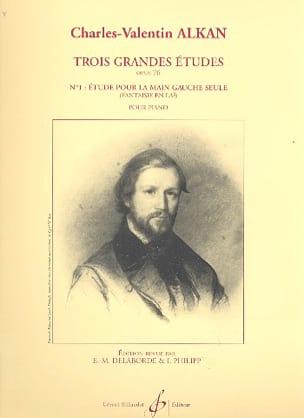 3 Grandes Etudes Opus 76-1 - Charles-Valentin Alkan - laflutedepan.com