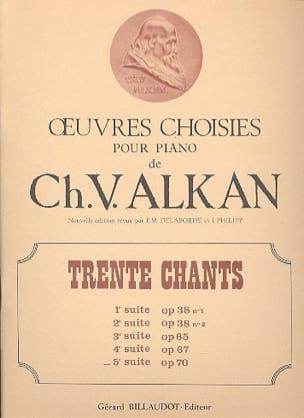 30 Chants Volume 5 Op. 70 - laflutedepan.com