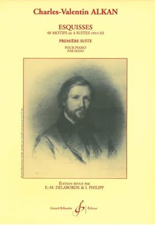 Charles Henri Valentin Aîné Alkan - Esquisses Opus 63 Volume 1 - Partition - di-arezzo.fr