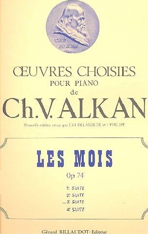 Charles-Valentin Alkan - Les Mois Op. 74 Vol 3 - Partition - di-arezzo.fr