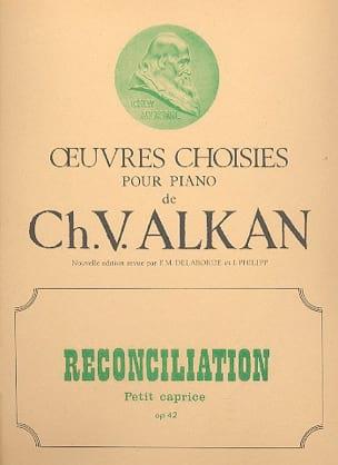 Réconciliation Op. 42 - ALKAN - Partition - Piano - laflutedepan.com
