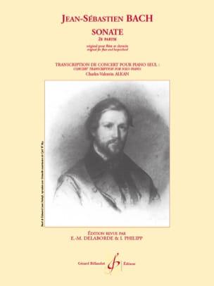 Bach Jean-Sébastien / Alkan Charles Henri Valentin Aîné - Sonate 2e Partie - Partition - di-arezzo.fr
