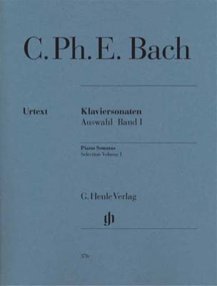 Carl-Philipp Emanuel Bach - Sonates choisies pour piano Volume 1 - Partition - di-arezzo.fr