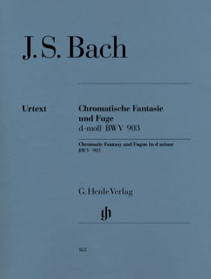 BACH - Chromatic Fantasy and Fugue D minor BWV 903 and 903a - Sheet Music - di-arezzo.com