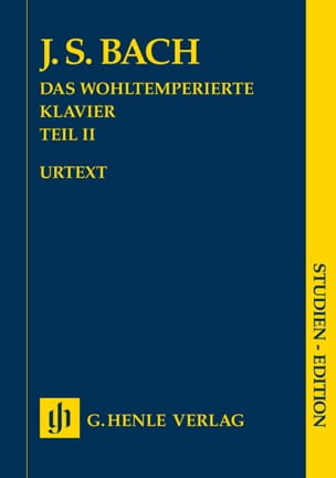 BACH - The Well Tempered Keyboard Volume 2 - Sheet Music - di-arezzo.com
