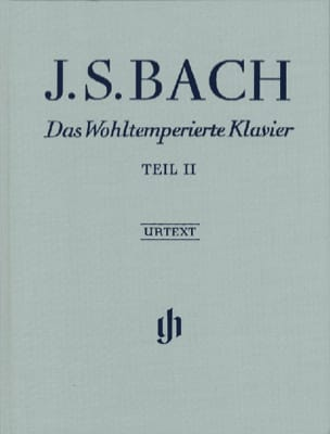 Jean-Sébastien Bach - Le Clavier Bien Tempéré, Livre 2. Edition Reliée - Partition - di-arezzo.fr